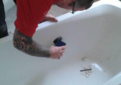 Bath repair - before
