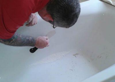 Bath repair - during