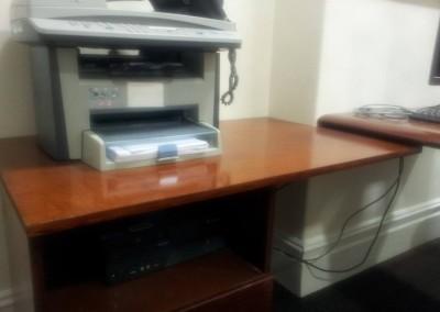 Desk repair - after